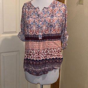 Women's Blouse Long Sleeve Size S